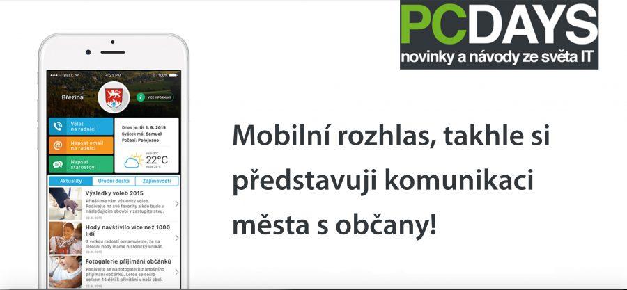 PC Days zveřejnilo pochvalnou recenzi Mobilního rozhlasu