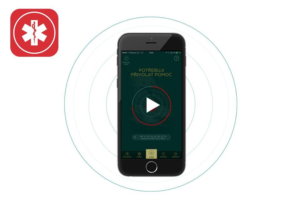 Věděli jste, že technologii Mobilního rozhlasu používá i aplikace Záchranka?