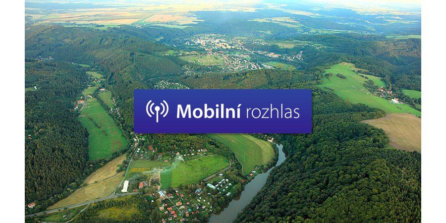 Mobilní rozhlas pomáhá komunikovat s občany v Posázaví